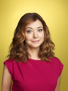 Lily Aldrin (played by Alyson Hannigan) from How I Met Your Mother.