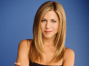 Rachel Green (played by Jennifer Aniston) from Friends.