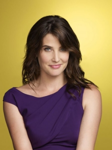 Robin Scherbatsky (played by Cobie Smulders) from How I Met Your Mother.