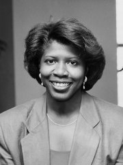 Gwen Ifill. Photograph from The New York Times.
